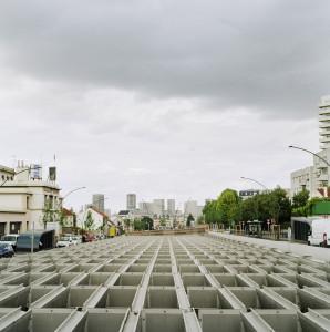 Paysage de banlieue photographie de Eric Facon photographe